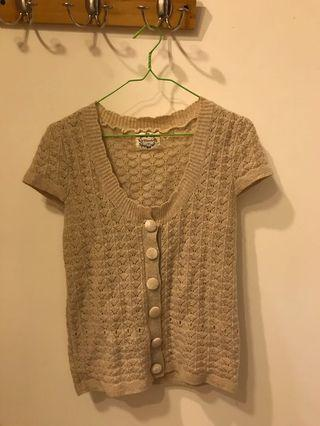 Cardigan Rajut Cream