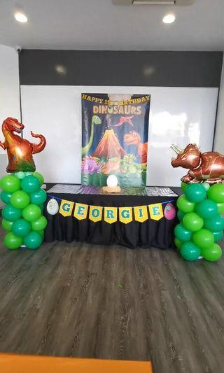 Dinosaur Theme Party Decoration for rent from $63.80