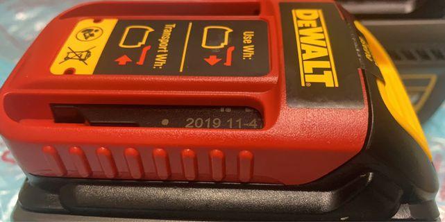 得偉18V、54V雙用6.0ah鋰電池
