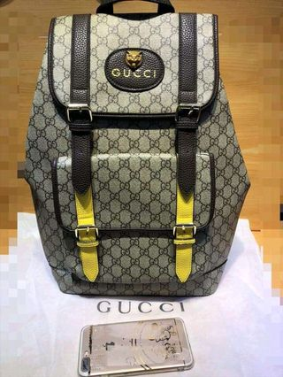 df737c9d7 gucci backpack authentic   Clothes   Carousell Philippines
