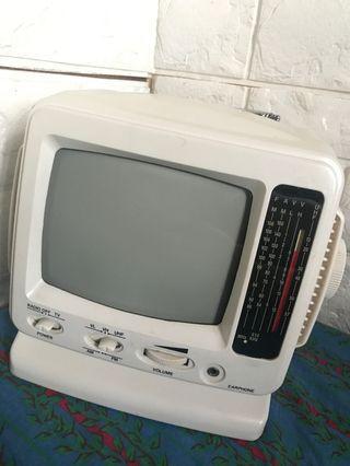 懷舊古董電視/收音機
