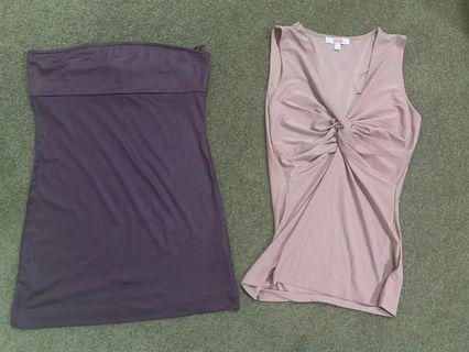Polyester women's tops