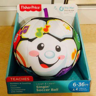 ~Ready Stocked~ Fisher-Price Laugh & Learn Singing Soccer Ball