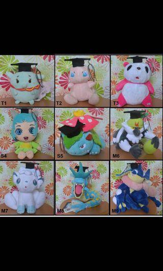 *Graduation plush sales*