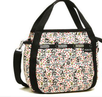 Lesportsac Crossbody Sling Bag - Jenni Happiness Dot