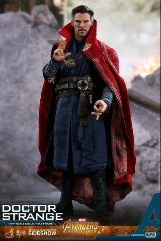 可取單 Hottoys Dr Strange receipt Marvel Avengers Infinity War 1/6 Figure Spiderman Endgame Ironman