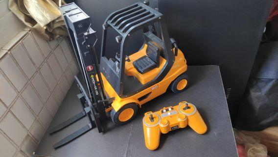 Radio Control Fork lift truck RC battery operated tractor Container