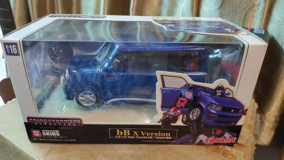 Transformers Toyota BB X Skids Theoretician Binaitech autobot