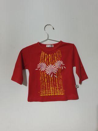 Baju baby merah