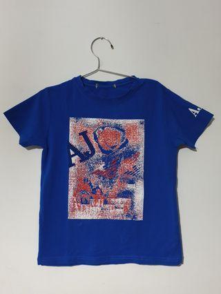 Kaos anak biru