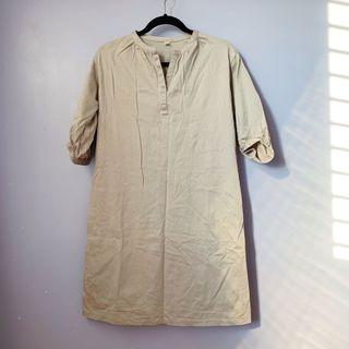 Uniqlo Beige Dress
