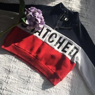 H&M snatched cropped jumper