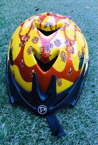 Polygon kids bicycle helmet