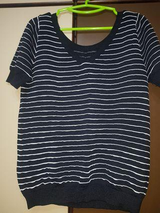 Plus size-BN striped sweater (4)