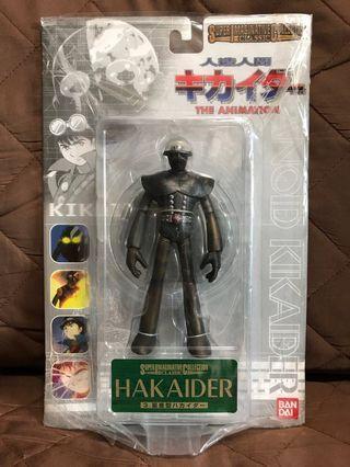 全新 日版 Bandai 2001 Super Maginative Collection Classic 電腦奇俠 The Animation 人造人間 Hakaider 電腦黑魔 量產型 14cm高 台座 Figure 景品