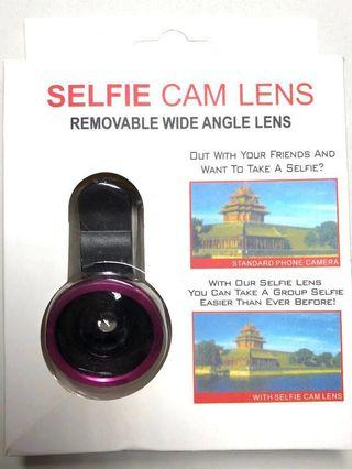 [BNIP] Pink Removable Wide Angle Selfie Cams Lens/Fish Eye Lens