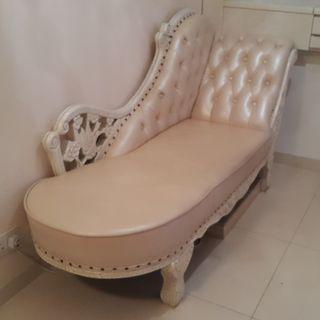 梳化 - 真皮貴妃椅