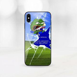 rare pepe phone case 悲傷蛙 手機殼 iphone 6 7 8x xr xs galaxy s10 s9