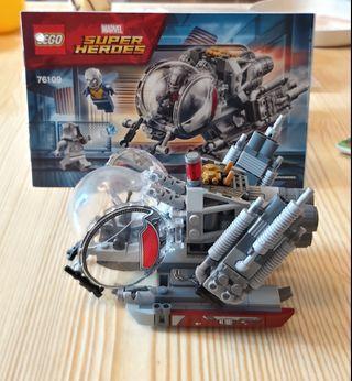 Lego 76109 Marvel Antman 淨機