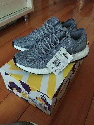 (中性款)Adidas Pureboost Grey