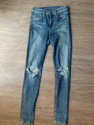 Citizens of Humanity Ripped Rocket Jeans
