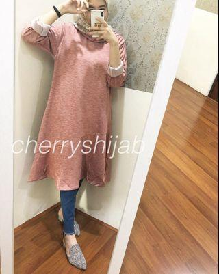 TUNIC PINK BY CHERRYS HUJAB / TUNIK