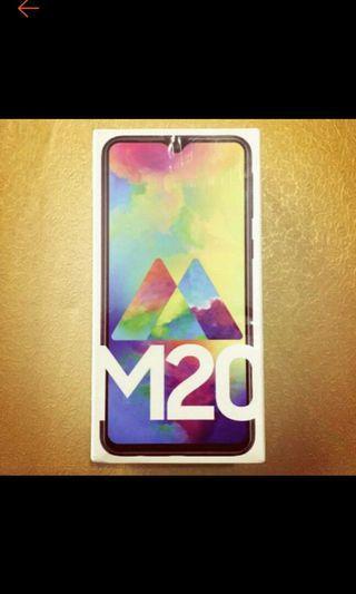 samsung m20 new