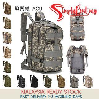 SIMPLYBEST Army Military 3P Hiking Backpack Camouflage Attack Tactical Backpack