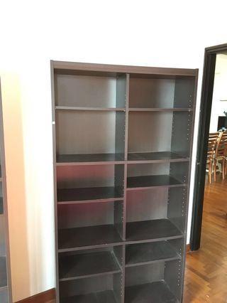 2 shelves each 35