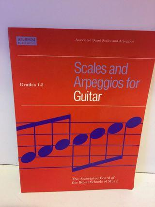 Scales and Arpeggies for Guitar, Grade 1-5