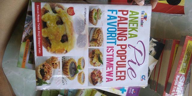buku masak aneka pie paling favorite