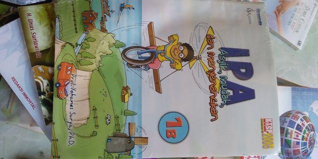 buku IPA untuk kelas 1