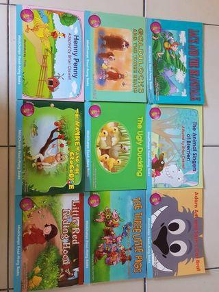 Mindchamps readers children storybooks