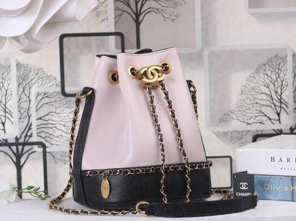 Chanel chain drawstring vip gift chanel
