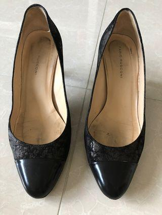 Black shoes size 36 made in Italy