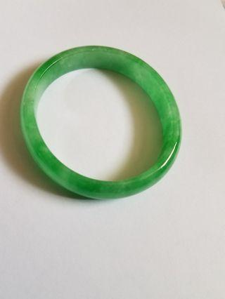 Oval  Jade Braceket