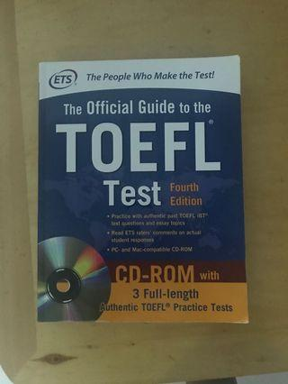 🚚 TOEFL official guide