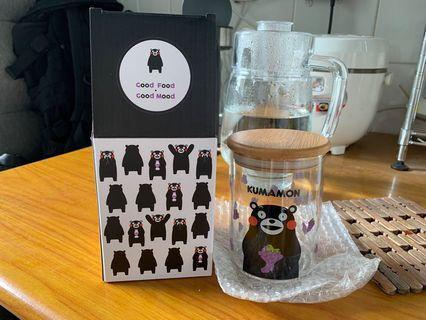 熊本熊 kumamon 玻璃瓶