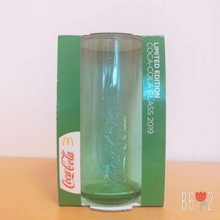 全新❤️2019年可口可樂玻璃杯 #綠色