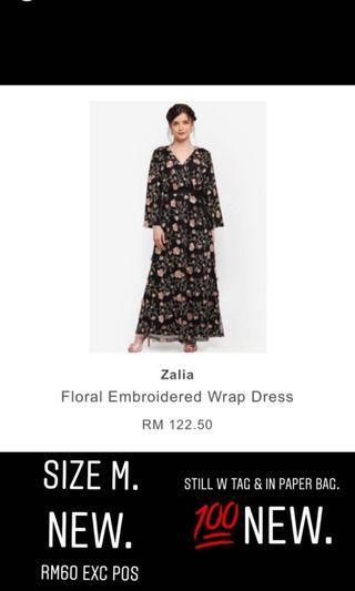 Zalia Wrap Dress