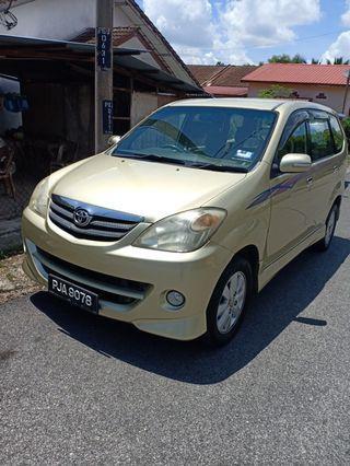 Avanza 1.5 2009 auto