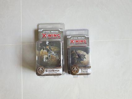 X wing. Scum bundle