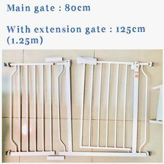 Baby gate + Extension