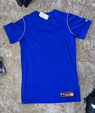 Under Armour blue jersey for women (dri-fit)