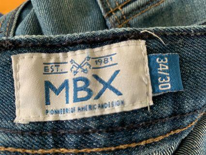 🚚 MBX 美國購入潮牌顯瘦修身牛仔褲