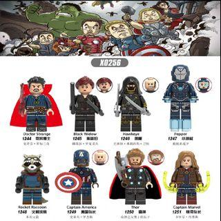 Lego Compatible Endgame Heroes Set 1
