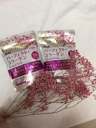 🚚 現貨在台 日本Asahi 朝日膠原蛋白粉 粉金版 228g 2018全新推出 大豆異黃酮 蜂王乳30天份