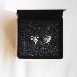 Pandora Heart of Winter Stud Earrings