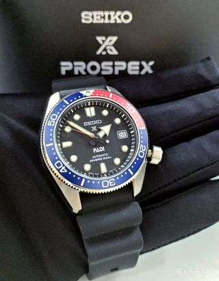 * FREE DELIVERY * Made In Japan Brand New 100% Authentic Seiko Prospex Pepsi MM200 Men's Automatic Divers Watch SBDC071