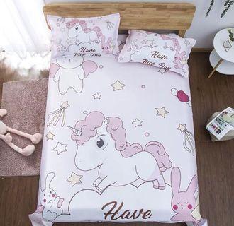 Bedsheets only unicorn
